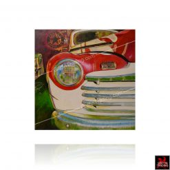 Bobbys Garage Painting by Carol Grudowski