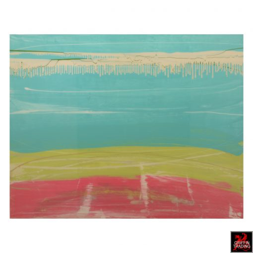 Austin Allen James Untitled Abstract Painting 8278