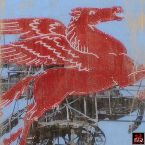 Dallas Flying Horse Painting by Austin Allen James