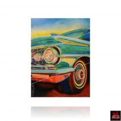 Flat Top Dreaming classic car painting by Carol Grudowski