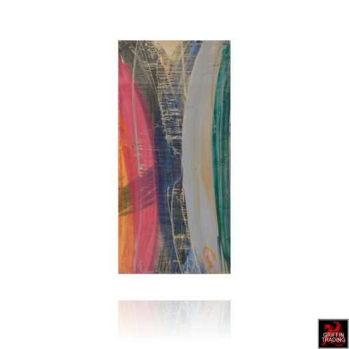 Austin Allen James original abstract resin painting 8645