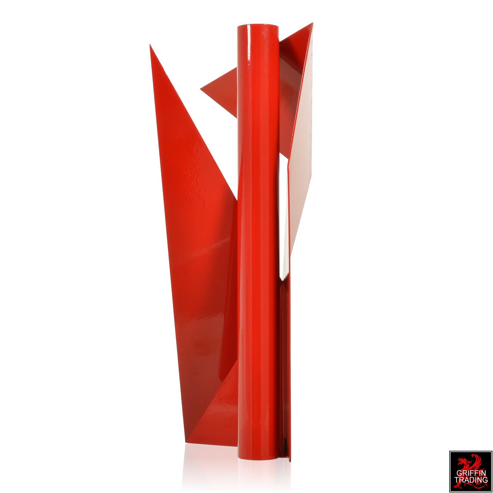 Steel geometric sculpture by sculptor Betty Gold.