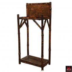 Antique Bamboo Umbrella Stand