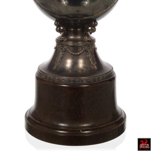 Silverplate Antique Basketball Trophy
