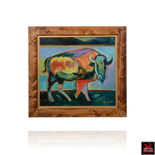 Hardy Martin BISON Painting
