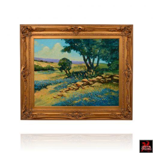 BLUEBONNET RIDGE Painting by Hardy Martin