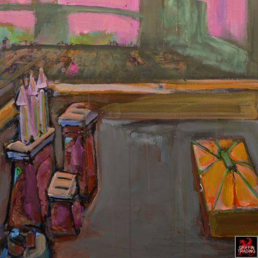 Brooklyn Bridge painting by Nik Puspurica