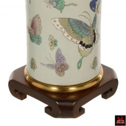 Pair of Vintage Butterfly Table Lamps by Frederick Cooper