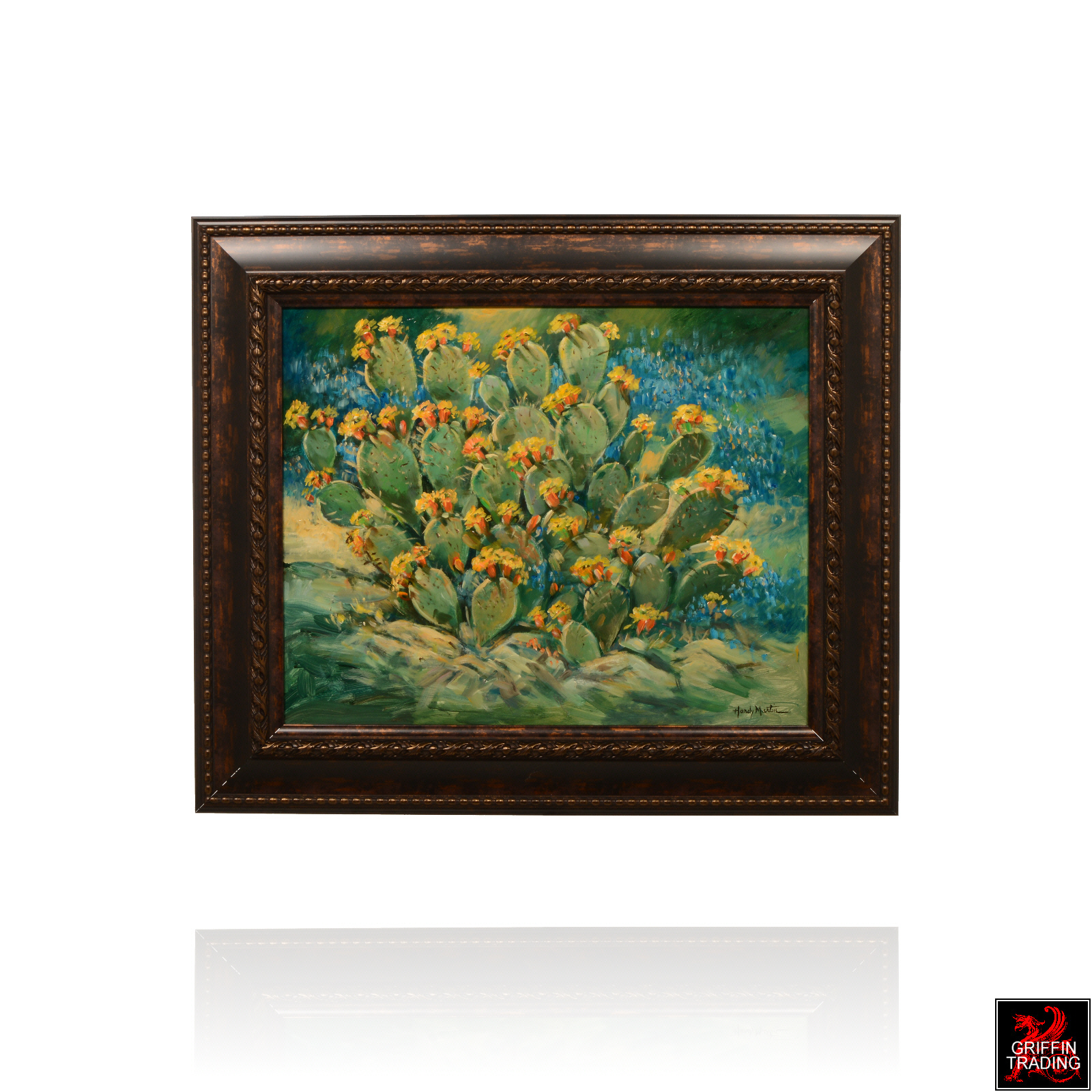 Summer Bloom Cactus painting by Hardy Martin