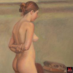Clarity Haynes Female Nude Figure Study Painting