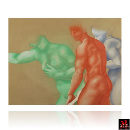 Classical Pastel Figure Study