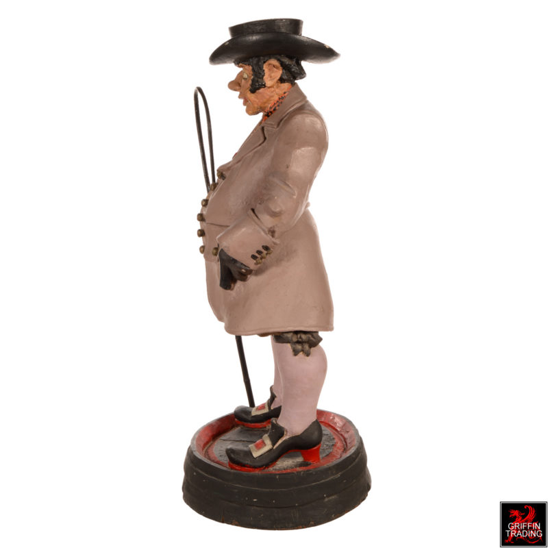Coachman Antique Advertising Show Figure