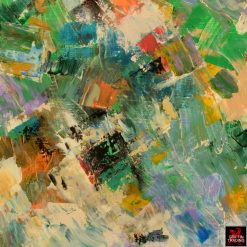 Color Slide abstract painting by Hardy Martin