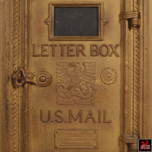 Antique Cutler Mailbox and Chute