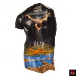 Dali's Christ of St John Painting