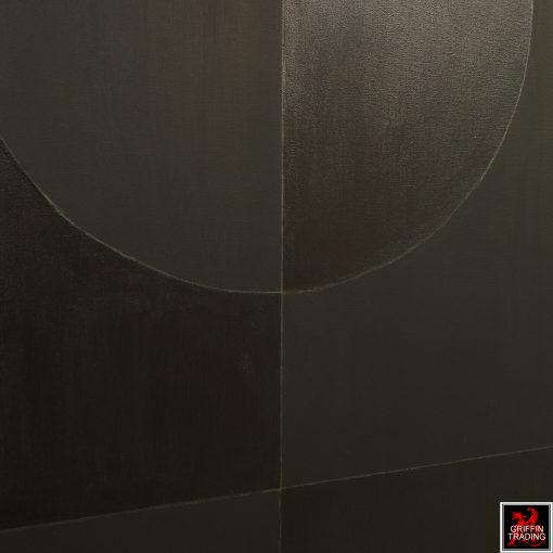 Stephen Hansrote Eclipse Double Black Painting