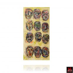 Faces Painting by Irma Ramirez