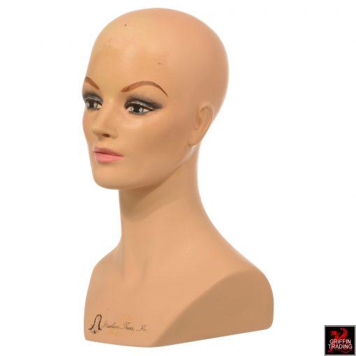 Vintage Female Mannequin Head