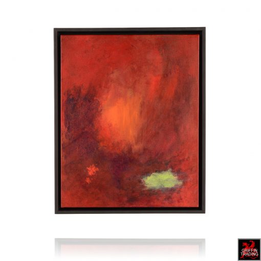 Stephen Hansrote Firelight Abstract Painting