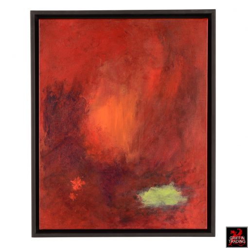 Firelight Abstract Painting by Stephen Hansrote