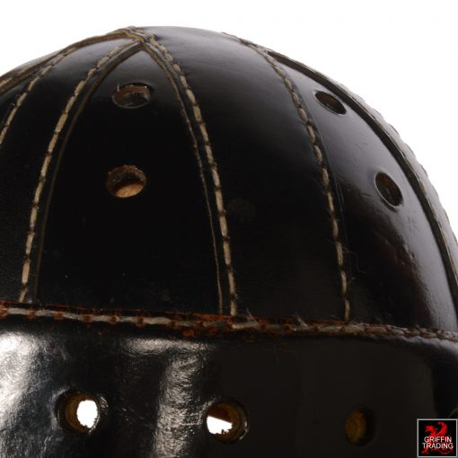Sports Collectors Vintage Leather Football Helmet