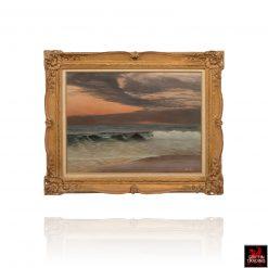 Painting of Galveston Beach by Robert Hamblen