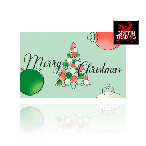 Christmas Tree Holiday Gift Card from Griffin Trading
