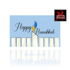 Happy Hanukkah Holiday Gift Card from Griffin Trading