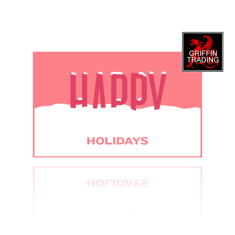 Happy Holidays Gift Card from Griffin Trading