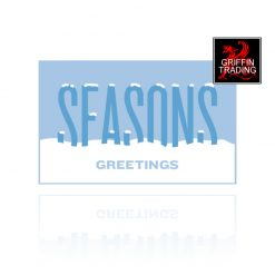 Seasons Greetings Holiday Gift Card from Griffin Trading