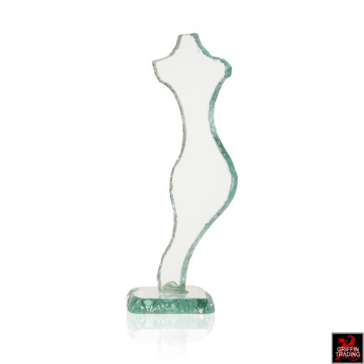 Female Glass Sculpture by Toledano