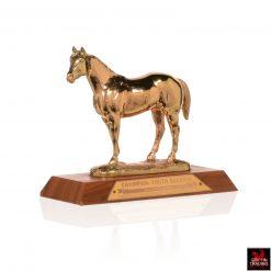 Vintage Quarter Horse Trophy