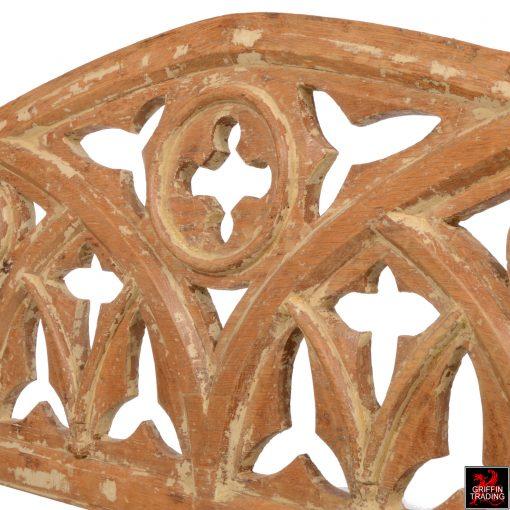 Antique Gothic Transom from Joliet Prison