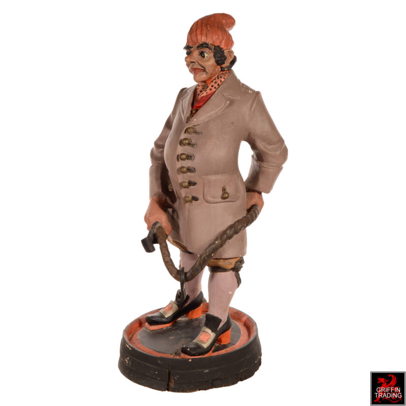 Groom Antique Advertising Show Figure