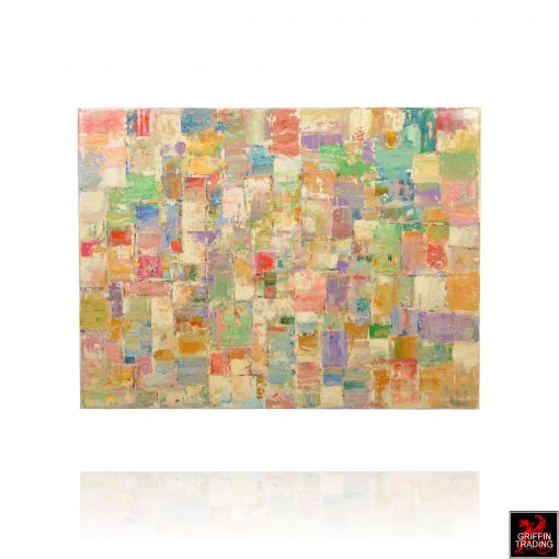 Its Complicated abstract painting by Hardy Martin