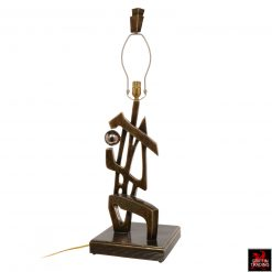 Abstract Sculpture Table Lamp