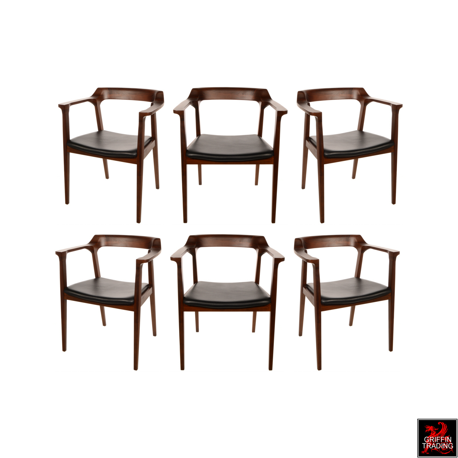 Mid Century Modern Style Dining Chair