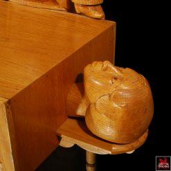 Magician Sculpture by Floyd Shaman