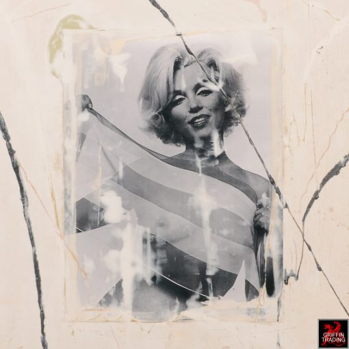 Marilyn Monroe Photograph Abstract Painting by Austin Allen James