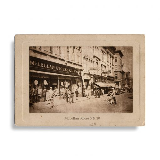 Antique Photograph of McLellan's Store