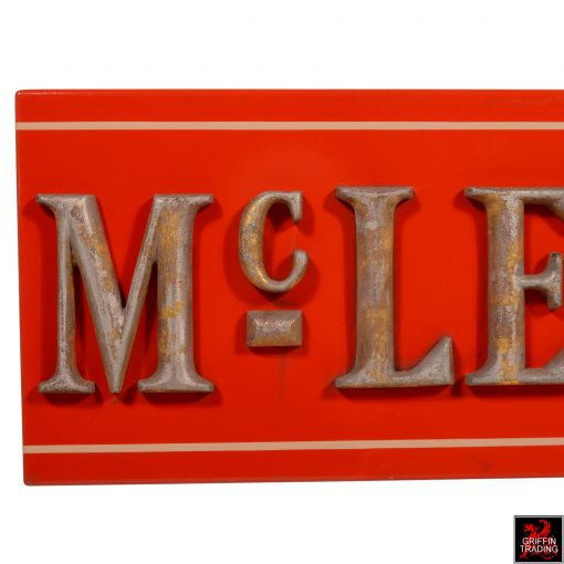 Antique McLellan's Store Sign