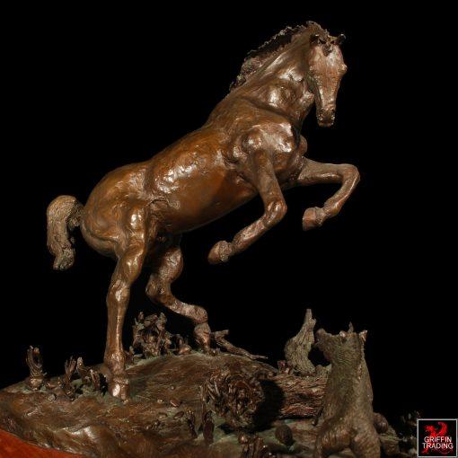 Bronze Horse Sculpture by Dana McLeod