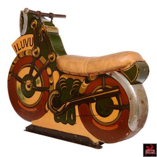 Antique Carnival Carousel Motorcycle Ride