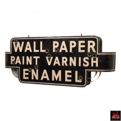 Art Deco Wallpaper Neon Sign