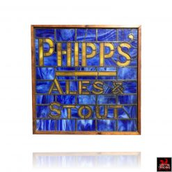 Phipps Ales and Stout Sign Window