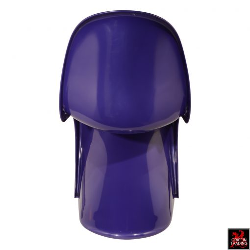 Verner Panton Purple Panton S Chair By Fehlbaum