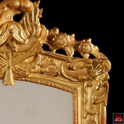 Antique French Regency Giltwood Mirror