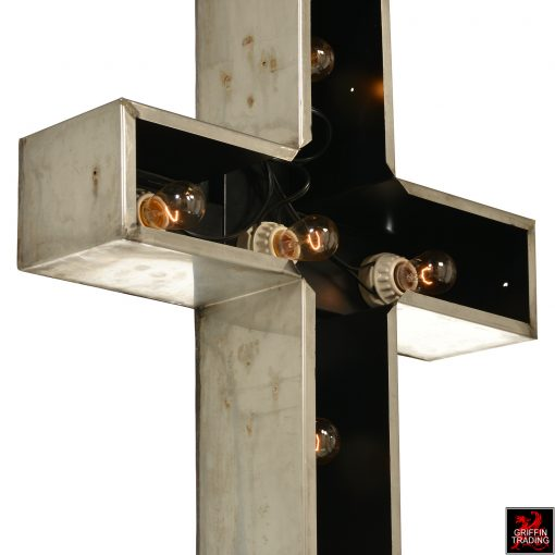 Church Cross Lighted Sign