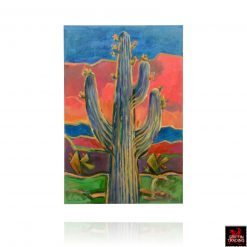 Saguaro Sunset painting by Hardy Martin