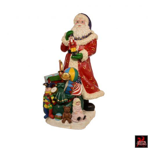 Santa Claus Store Display Figure